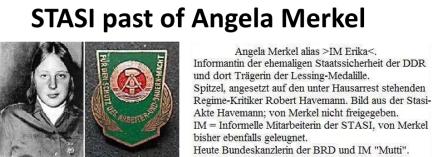 Stasi Merkel